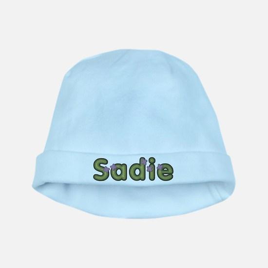 Sadie Spring Green baby hat