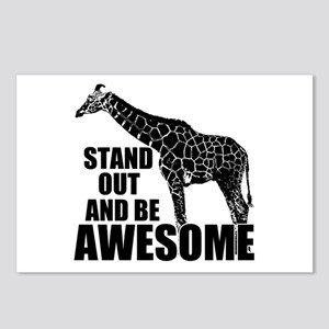Awesome Giraffe Postcards (Package of 8)