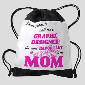 Some call me a Graphic Designer, th Drawstring Bag