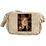 StephanieAM Bulldog Messenger Bag
