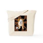 StephanieAM Bulldog Tote Bag