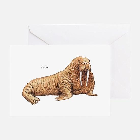 Walrus Animal Greeting Card