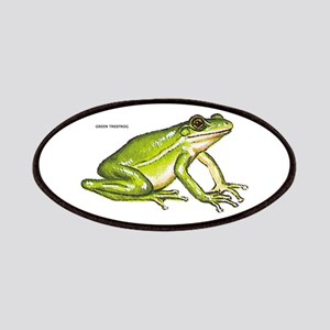 Green Treefrog Frog Patches