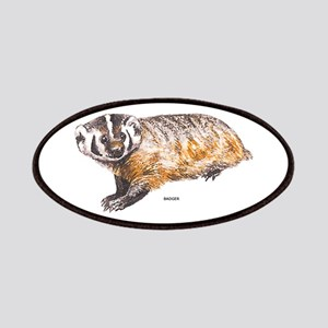 Badger Animal Patches