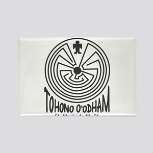 Tohono O'Odham Nation Rectangle Magnet