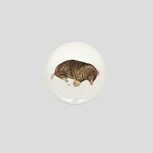 Mole Animal Mini Button