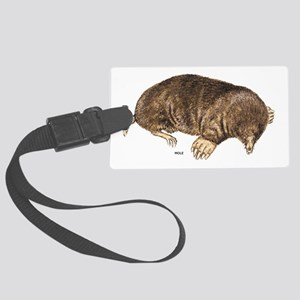 Mole Animal Large Luggage Tag