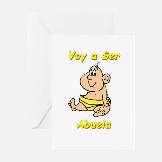 Voy a Ser Abuela Greeting Cards (Pk of 10)