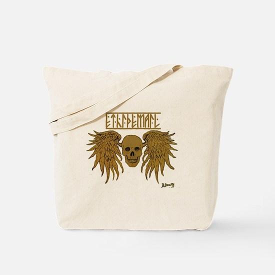 winged skull /ethidemail Tote Bag