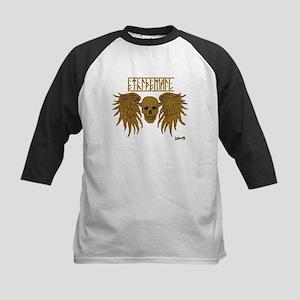 winged skull /ethidemail Baseball Jersey