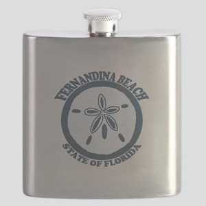 Fernandina Beach - Sand Dollar. Flask