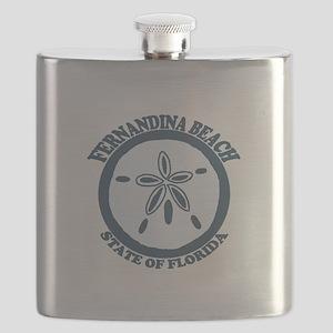 Fernandina Beach - Sand Dollar. Flask