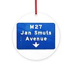 Jan Smuts Avenue Ornament (Round)