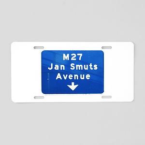 Jan Smuts Avenue Aluminum License Plate