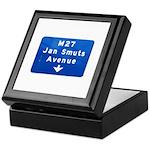 Jan Smuts Avenue Keepsake Box
