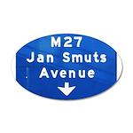 Jan Smuts Avenue Wall Sticker