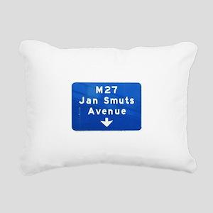 Jan Smuts Avenue Rectangular Canvas Pillow