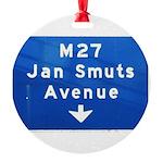 Jan Smuts Avenue Round Ornament