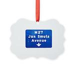 Jan Smuts Avenue Picture Ornament