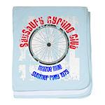 Salisbury Cycle Club baby blanket
