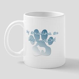 Border Collie Grandchildren Mug