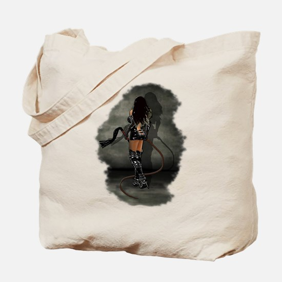 Bullwhip Dominatrix Tote Bag
