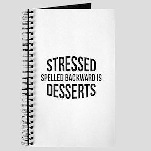 Stressed Spelled Backward Is Desserts Journal