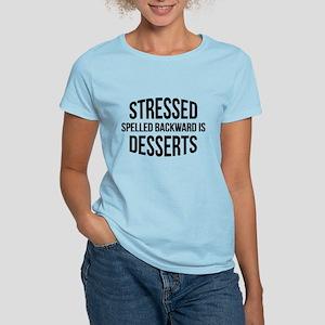 Stressed Spelled Backward Is Desserts Women's Ligh