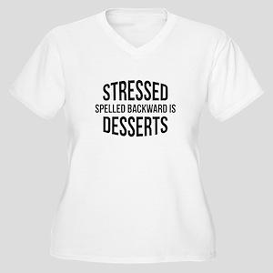 Stressed Spelled Backward Is Desserts Women's Plus