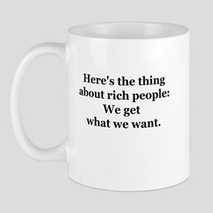 Rich People Mug