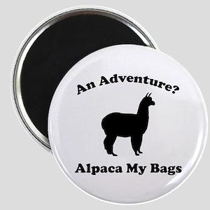 An Adventure? Alpaca My Bags Magnet