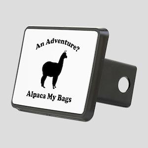 An Adventure? Alpaca My Bags Rectangular Hitch Cov