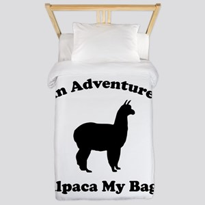 An Adventure? Alpaca My Bags Twin Duvet