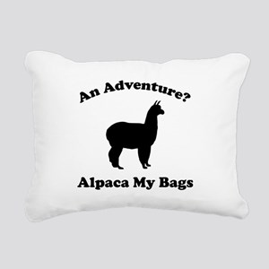 An Adventure? Alpaca My Bags Rectangular Canvas Pi