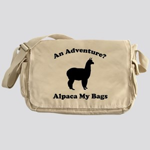 An Adventure? Alpaca My Bags Messenger Bag