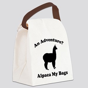 An Adventure? Alpaca My Bags Canvas Lunch Bag