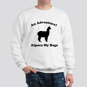 An Adventure? Alpaca My Bags Sweatshirt