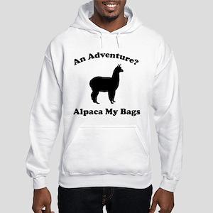 An Adventure? Alpaca My Bags Hooded Sweatshirt