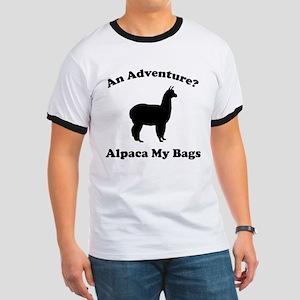 An Adventure? Alpaca My Bags Ringer T