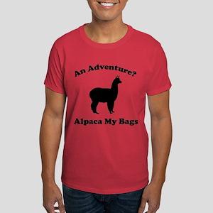 An Adventure? Alpaca My Bags Dark T-Shirt