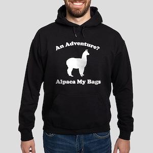 An Adventure? Alpaca My Bags Hoodie (dark)