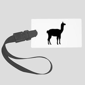 Llama Large Luggage Tag