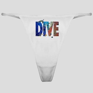 Scuba Dive! Classic Thong