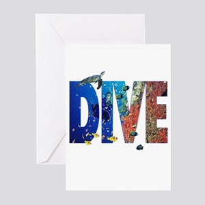 Scuba Dive! Greeting Cards (Pk of 10)