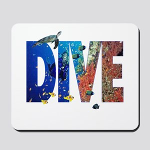 Scuba Dive! Mousepad
