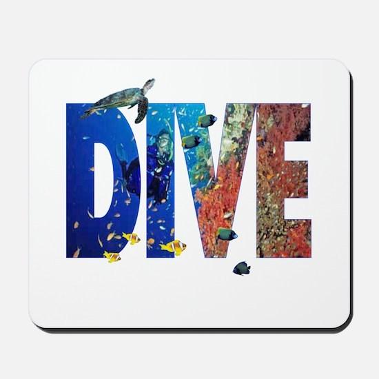 Scuba Dive! Mousepad