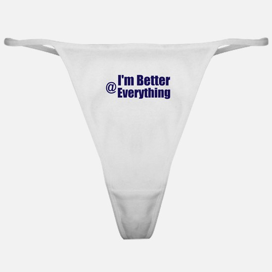 Better@Everything Classic Thong