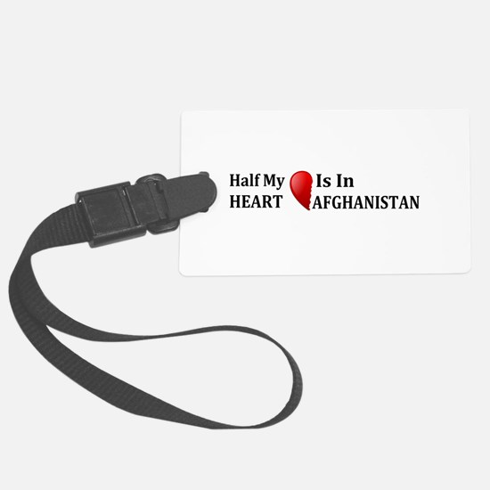 Afghanistan Luggage Tag