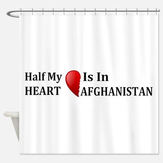 Afghanistan Shower Curtain