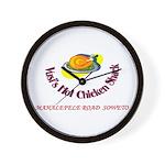 Vusis Hot Chicken Wall Clock